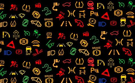 fiat punto dashboard symbols meanings dashboard warning lights and what they micksgarage