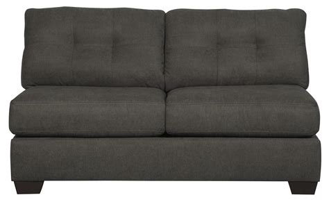 delta sofa and loveseat benchcraft delta city steel 1970071 armless sleeper with