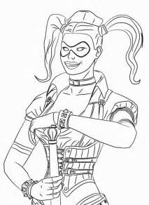 harley quinn coloring pages harley quinn coloring pages coloring home