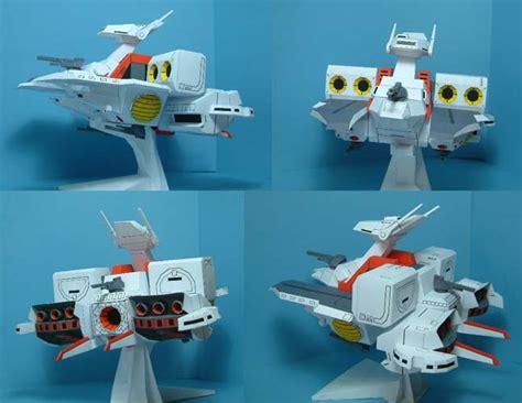 Papercraft Mobil - gundam papercraft sd argama mobile ship paperkraft net