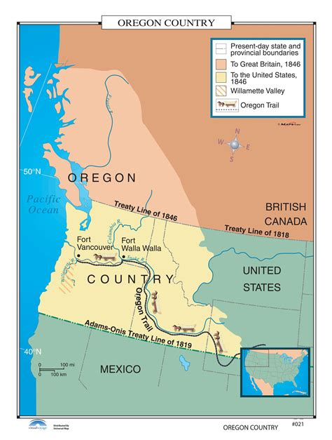 oregon country map 1846 021 oregon country kappa map