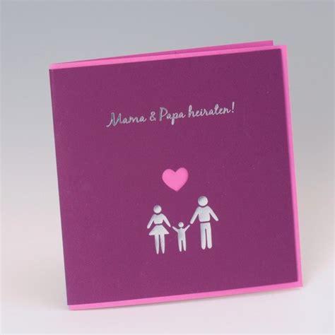Hochzeitseinladung Und Papa Heiraten by Hochzeitseinladungskarte Quot Papa Heiraten
