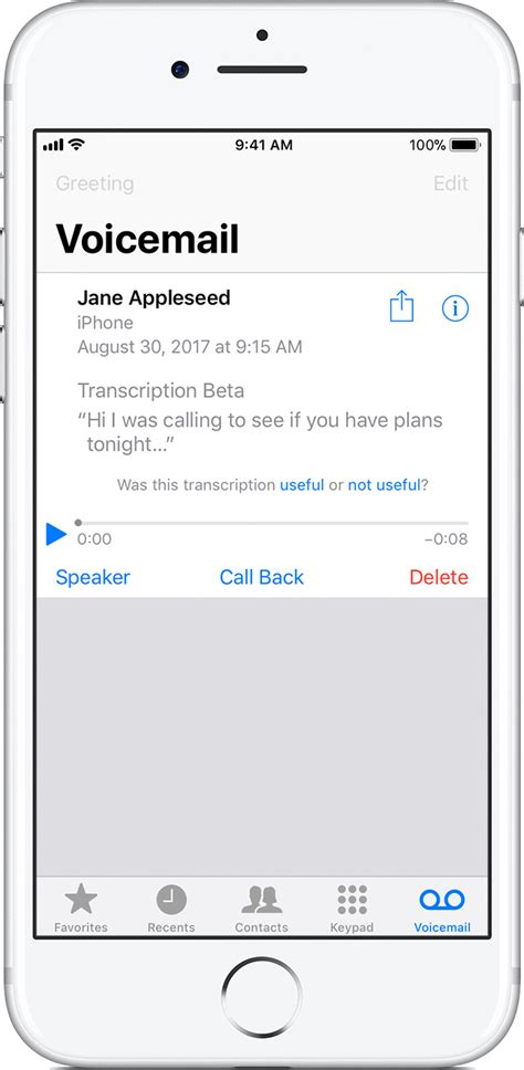 iphone voicemail layout professional voice greetings images greeting card exles