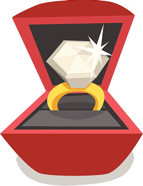 top 60 engagement ring box clip art vector graphics and illustrations istock
