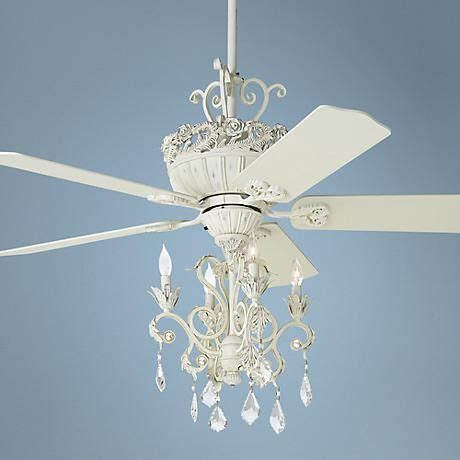 shabby chic ceiling fan with light 25 best ideas about shabby chic chandelier on pinterest