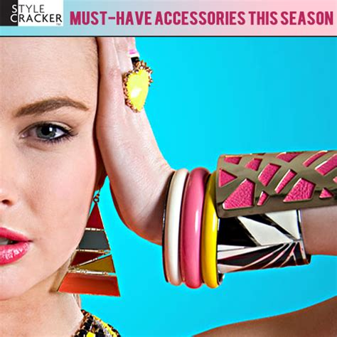 Your Must Haves For The Season by Sc S List Of Must Accessories This Season Stylecracker