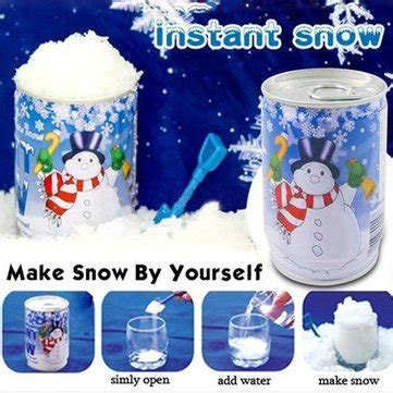artificial instant snow christmas decoration diy snow us