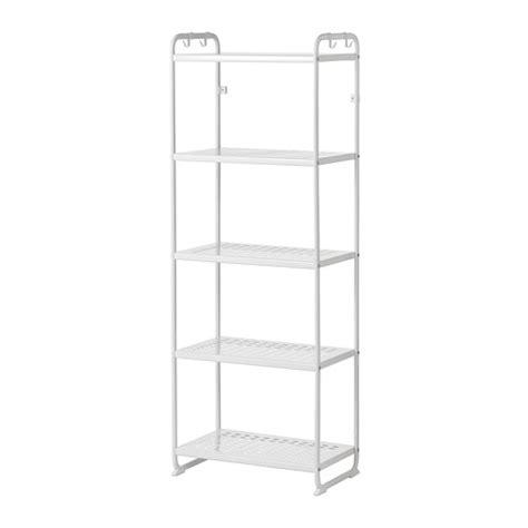 ikea steel shelves mulig shelving unit white 22 7 8x13 3 8x63 3 4 quot ikea