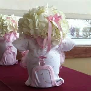 baby shower centerpieces for ideas onesie flower centerpiece baby shower ideas