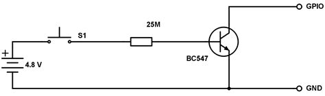 how does bc547 transistor work transistors noise in simple bc547 raspberry pi gpio doorbell electrical engineering stack