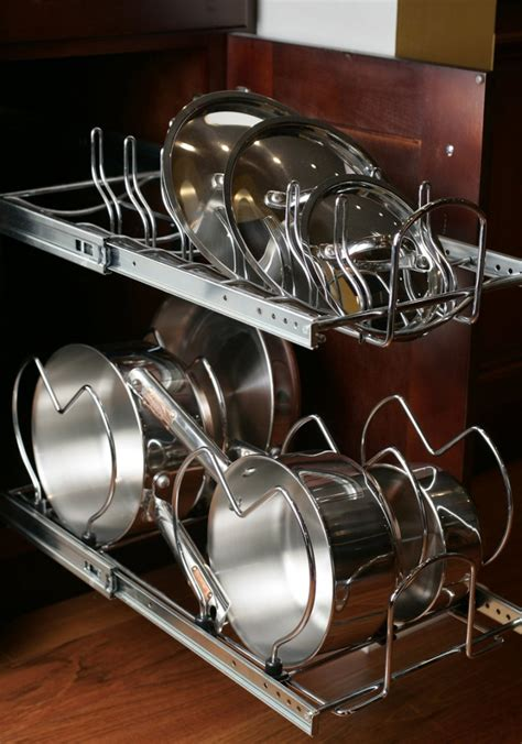 Pull Out Pot Rack by Drop Downs Pullouts And Sliders Every Cupboard S