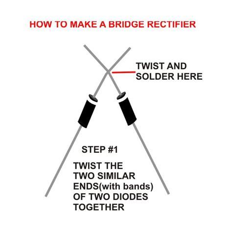 bridge type rectifier diode bridge type rectifier