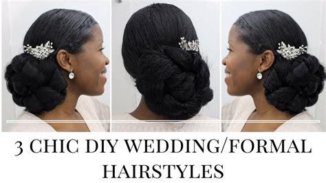 how to make black hair crinkleatural hairstyles for black women 3 timeless diy wedding formal hairstyles natural hair