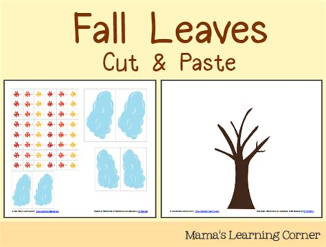Cut And Paste Fall Worksheets by All Worksheets 187 Fall Cut And Paste Worksheets Printable