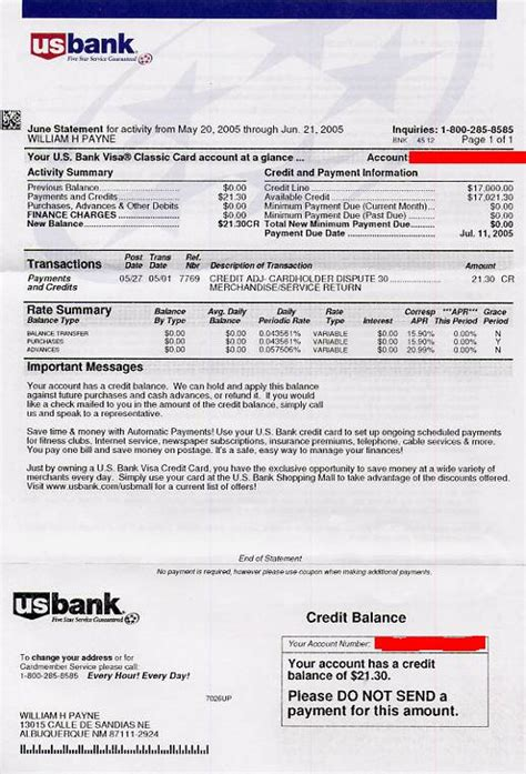 So Let S Do New Mexico Better Business Bureausoon Us Bank Statement Template