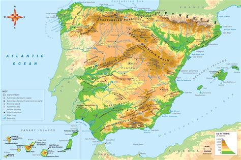 5 themes of geography spain image gallery spain geography
