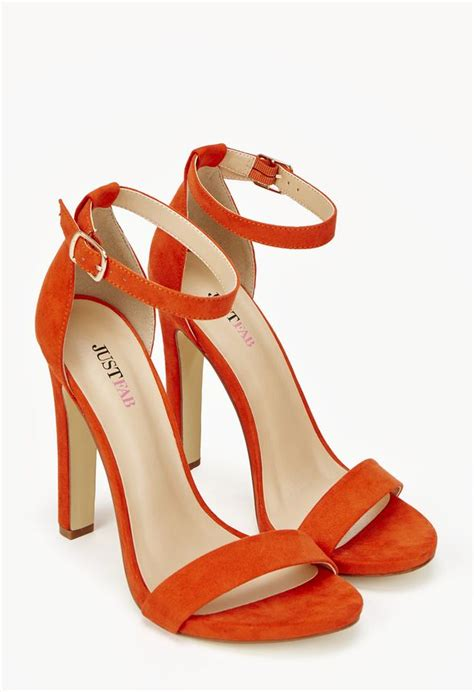 Just Shoes Is kati in orange get great deals at justfab