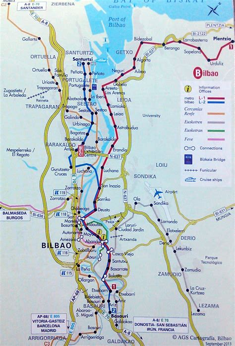 map of spain bilbao getxo sea and near bilbao the best places in spain