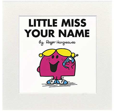 personalised mr men and little miss prints by at you grew