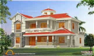 300 Square Meters by House Elevation In 300 Square Meter Indian House Plans