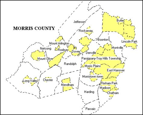 Morris County Nj Court Records Morris County Map My