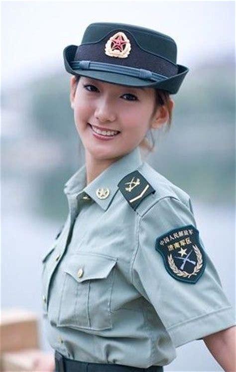 chinese military uniform girl the uniform girls pic china military uniform girls 017