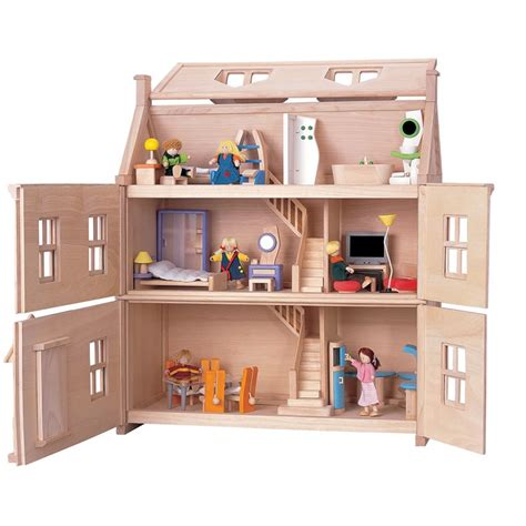 dolls house toy plan toys victorian dolls house