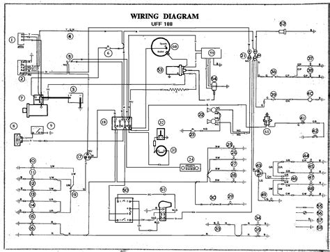 wiring diagram car mga alternator and negative earth conversion