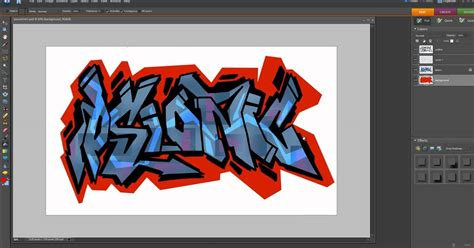 tutorial photoshop graffiti digital graffiti tutorial photoshop elements youtube