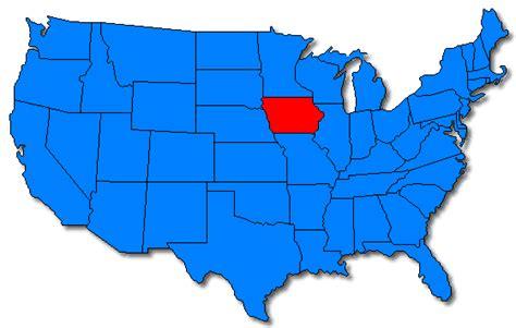 united states map iowa maps united states map iowa