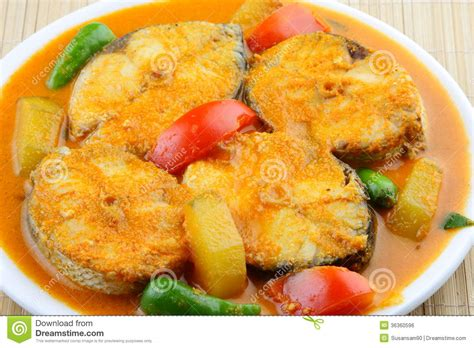 Close Up Of Baracuda Fish Curry Asian Style 5. Royalty Free Stock Image   Image: 36360596