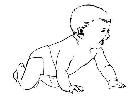 imagenes de niños llorando para colorear dibujo para colorear beb 233 img 10623