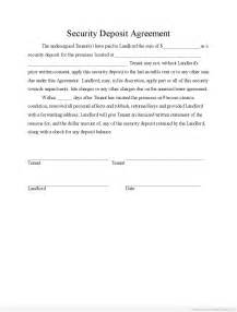 new car purchase return policy free printable security deposit agreement form template