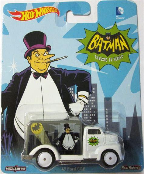 Wheels 49 Ford Coe Batman Wheels Batman 49 Ford Coe Ruedas De Goma E 1 64