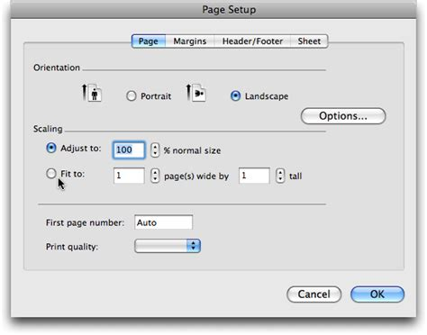 print layout excel mac print problem with microsoft excel 2008 ask dave taylor