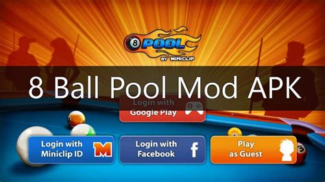 mod game of 8 ball pool download 8 ball pool mod apk unlimited money cash