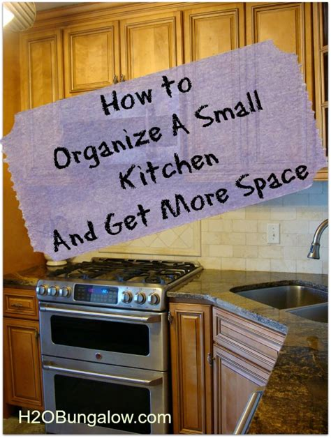 organizing a small kitchen how to organize a small kitchen and get more space