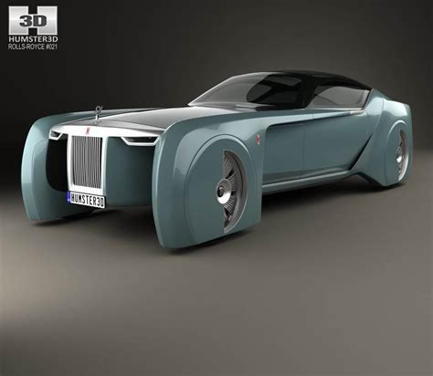rolls royce vision rolls royce 103ex vision 100 2016 3d model from hum3d