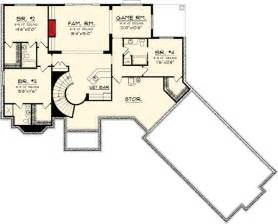 Ranch Floor Plans With Walkout Basement by Ranch Home Plan With Walkout Basement 89856ah 1st