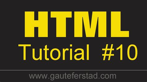 html tutorial on youtube html tutorial 10 creating internal links linking your
