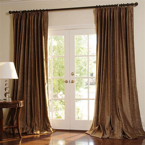 parisian pleat drapes velvet chenille drapes drapestyle com