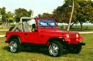 the history of the 1987 1995 jeep 174 wrangler yj the jeep