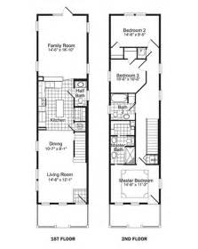 narrow lot floor plans floor inc plannarrow lot house