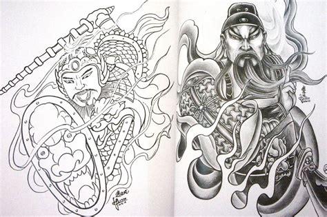 Oriental Tattoo Flash Art | samurai warrior tattoo flash pictures to pin on pinterest