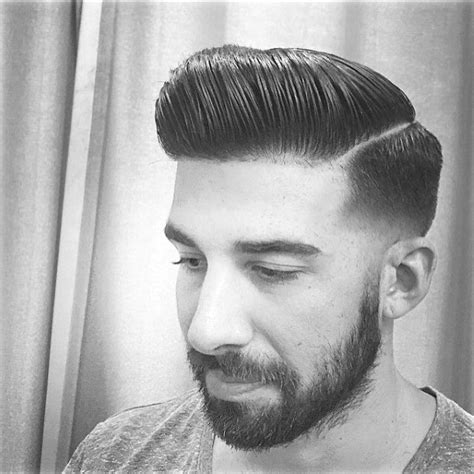 pompadour with hard part hard part pompadour www pixshark com images galleries