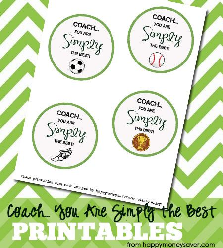 Hdm Simply Top Baseball coach gift ideas quot simply quot the best coach w free printable