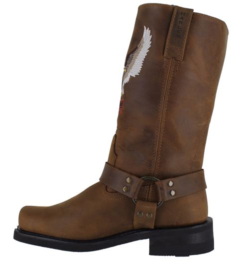 mens harley riding boots mens harley davidson darren motorcycle riding eagle biker