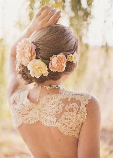 Romantische Frisuren Hochzeit by Eine Sehr Romantische Frisur Haare Romantisch Hochzeit