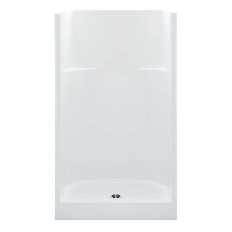 42 Inch Shower Stall by Aquatic Everyday Smooth Wall Afr 42 In X 34 In X 75 In