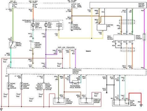 mustang ignition control module diagram